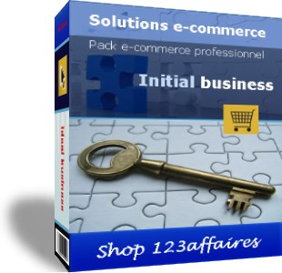 Pack ecommerce initial business